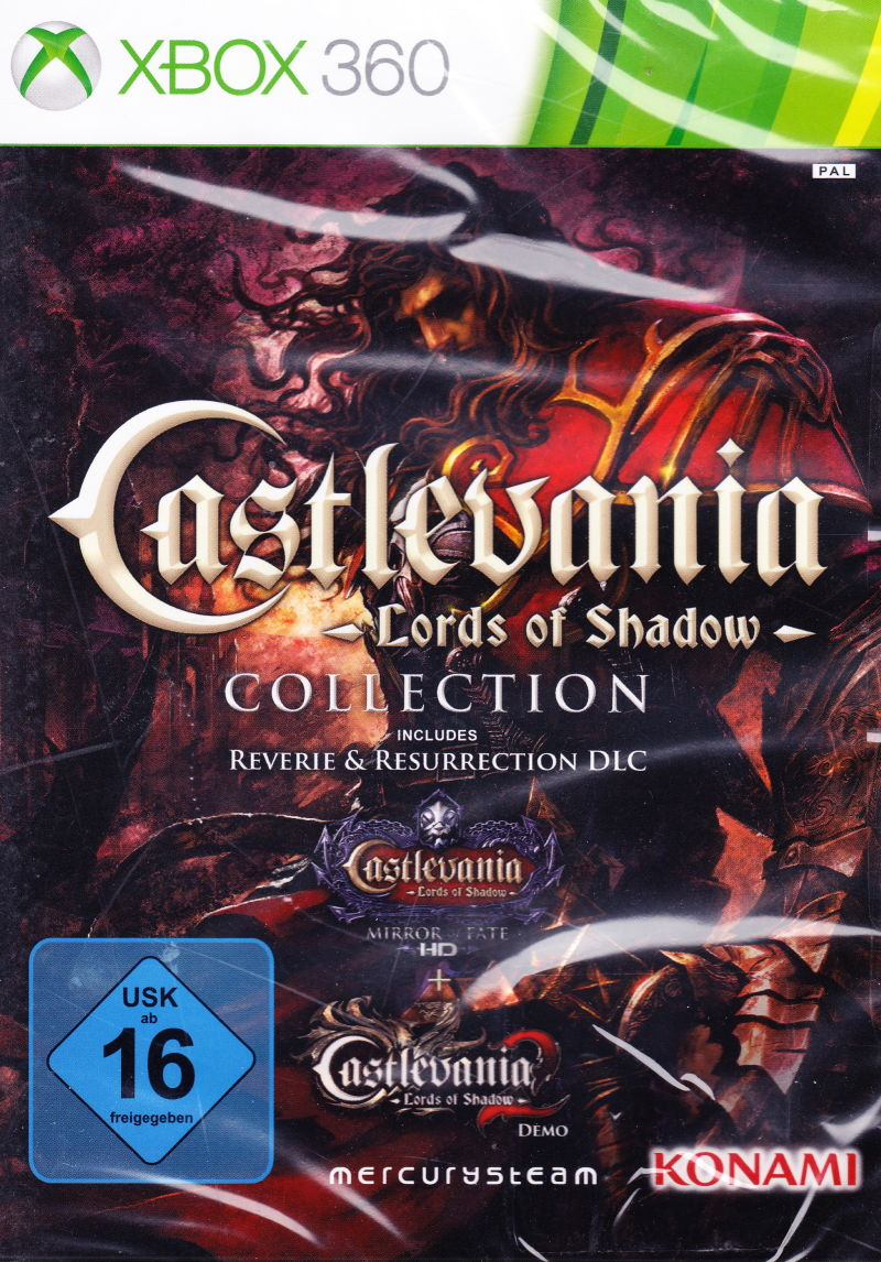 Castlevania Lords Of Shadow Collection 2013 Xbox 360 Box Cover