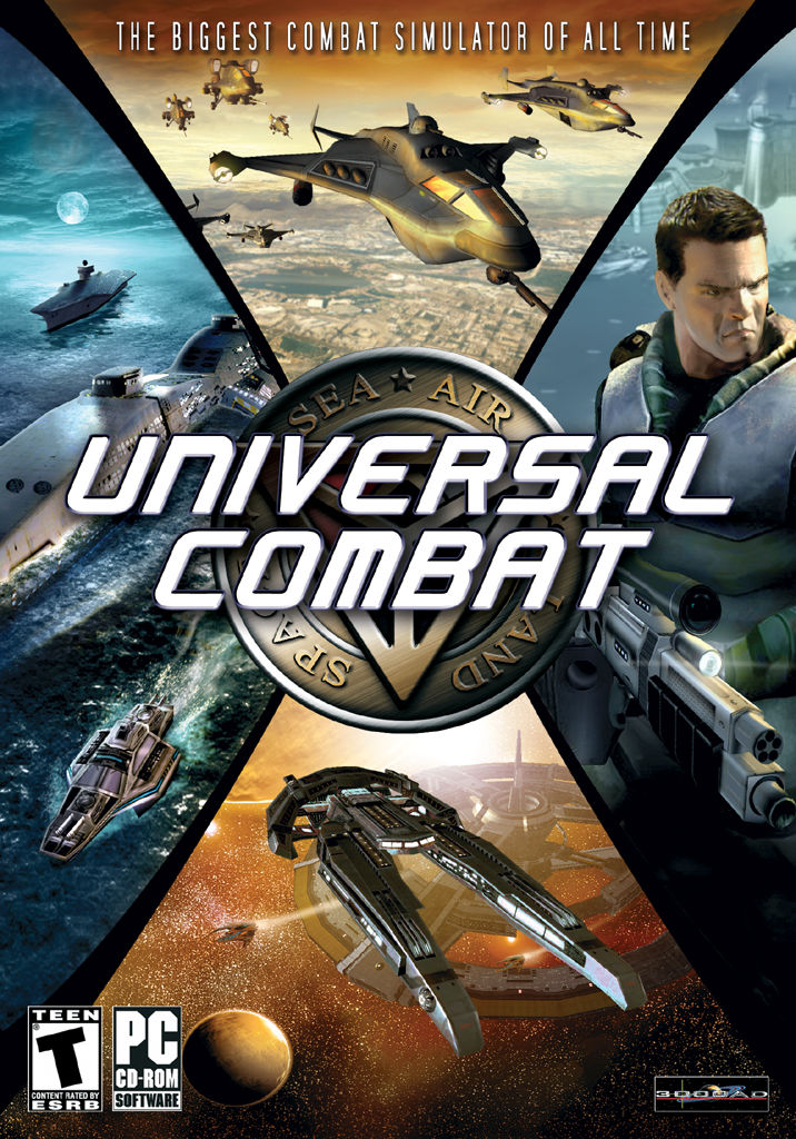 Universal Combat Windows Front Cover