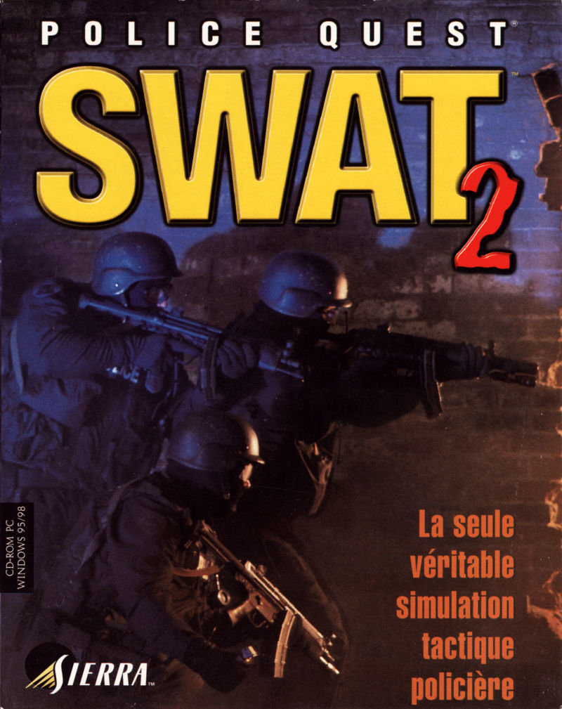 Police Quest: SWAT 2 Windows Front Cover