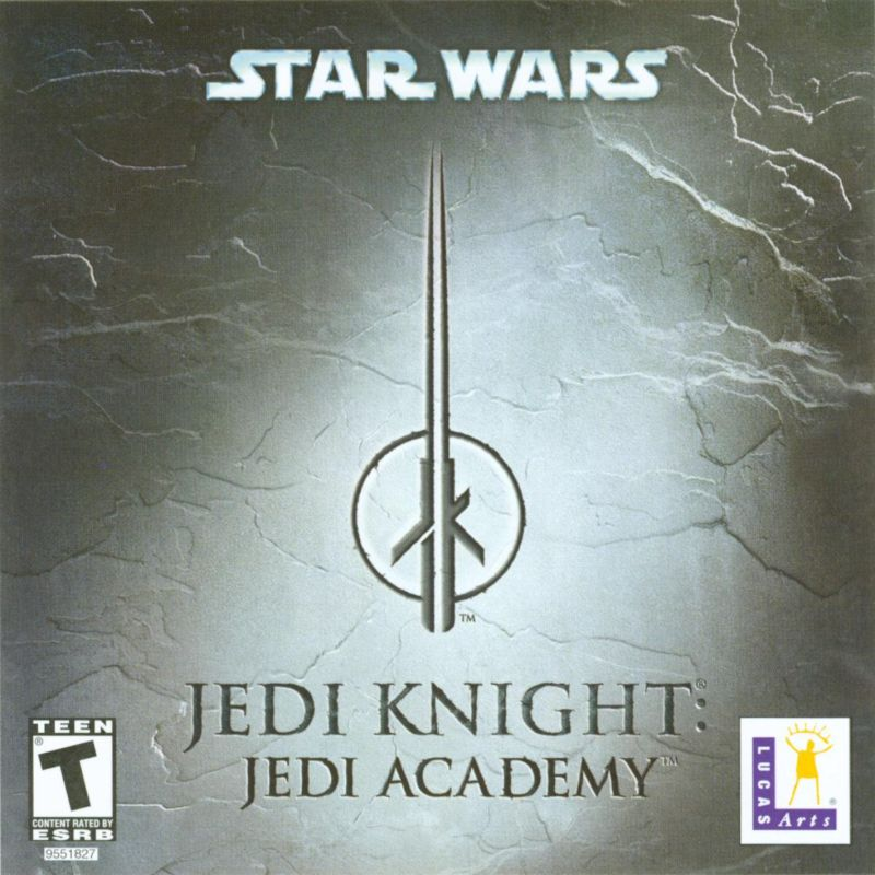 Star Wars: Jedi Knight - Jedi Academy Windows Other Jewel Case - Front