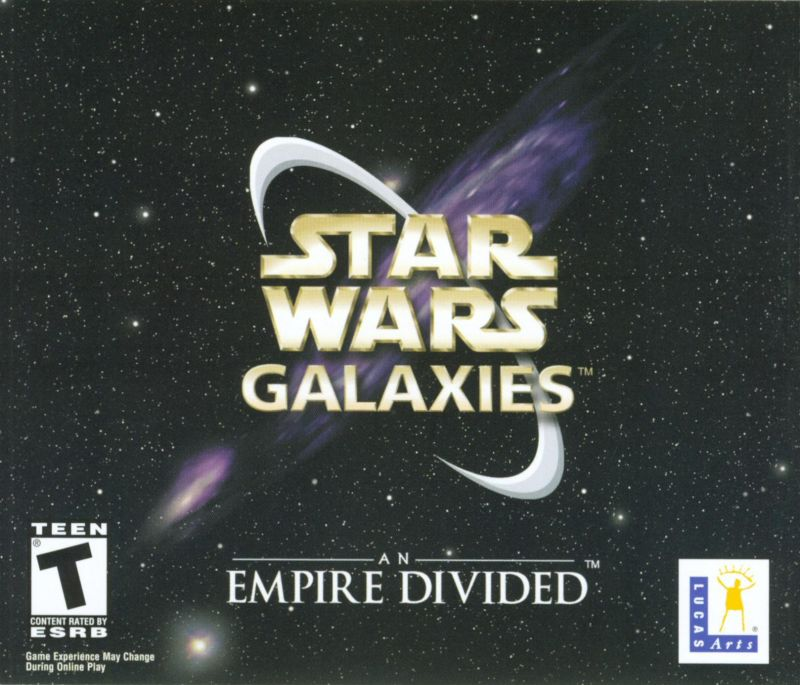 Star Wars: Galaxies - An Empire Divided Windows Other Jewel Case - Front
