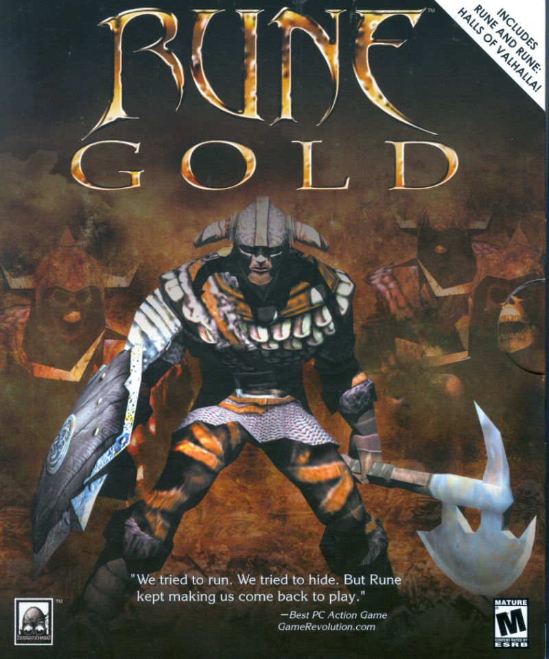 Rune: Gold Windows Front Cover