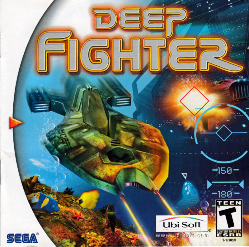 Deep Fighter (2000) Dreamcast box cover art - MobyGames