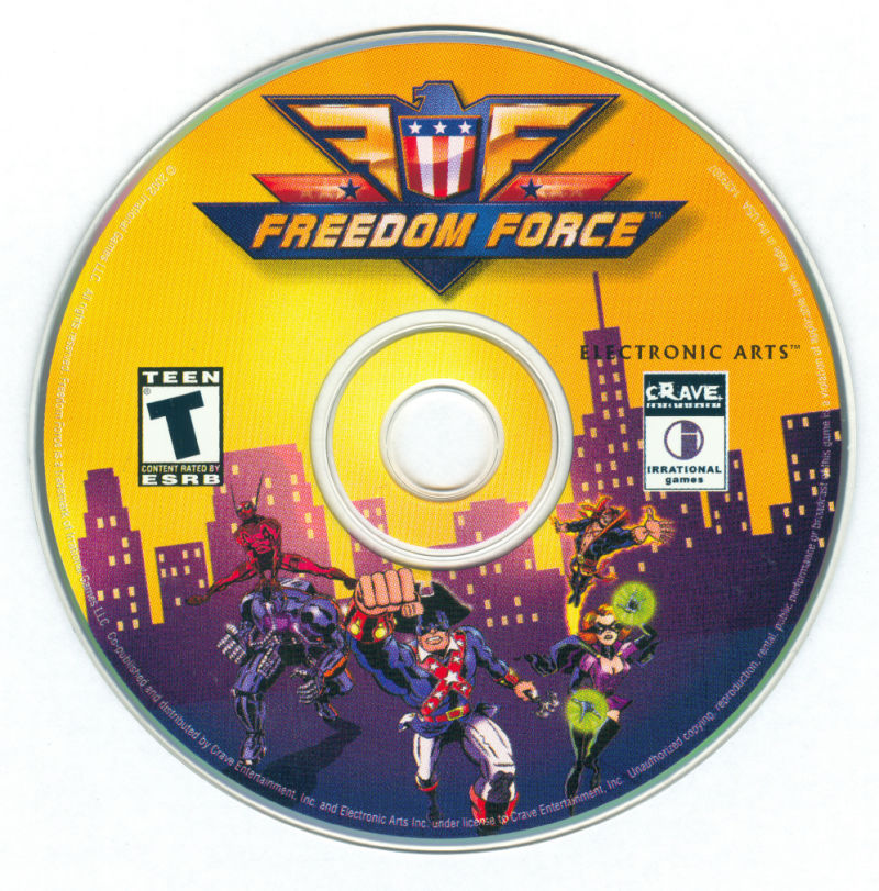 Freedom Force Windows Media