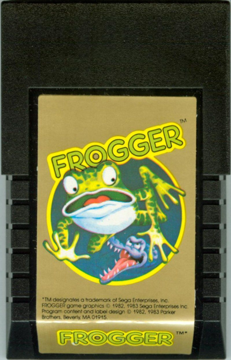 Frogger Intellivision Media
