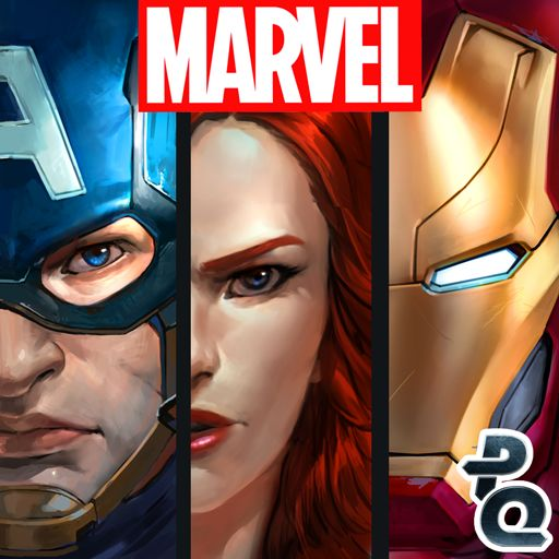 Marvel Puzzle Quest Android Front Cover R99 release (Captain America: Civil War)