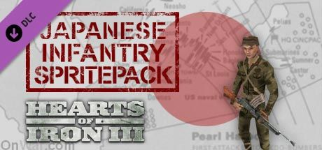 Hearts of Iron III: Japanese Infantry Spritepack