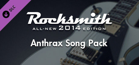 Rocksmith: All-new 2014 Edition - Anthrax Song Pack
