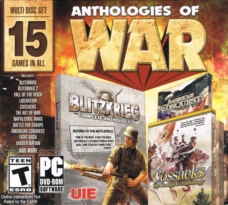 Anthologies: Anthologies Of War For Windows (2014)