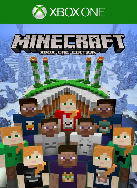 Book Cover Craft Xbox One ~ Minecraft xbox one edition th birthday skin pack