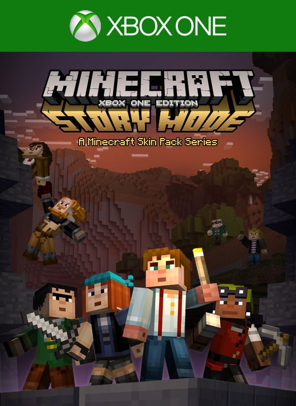 Book Cover Craft Xbox One : Minecraft playstation edition story mode