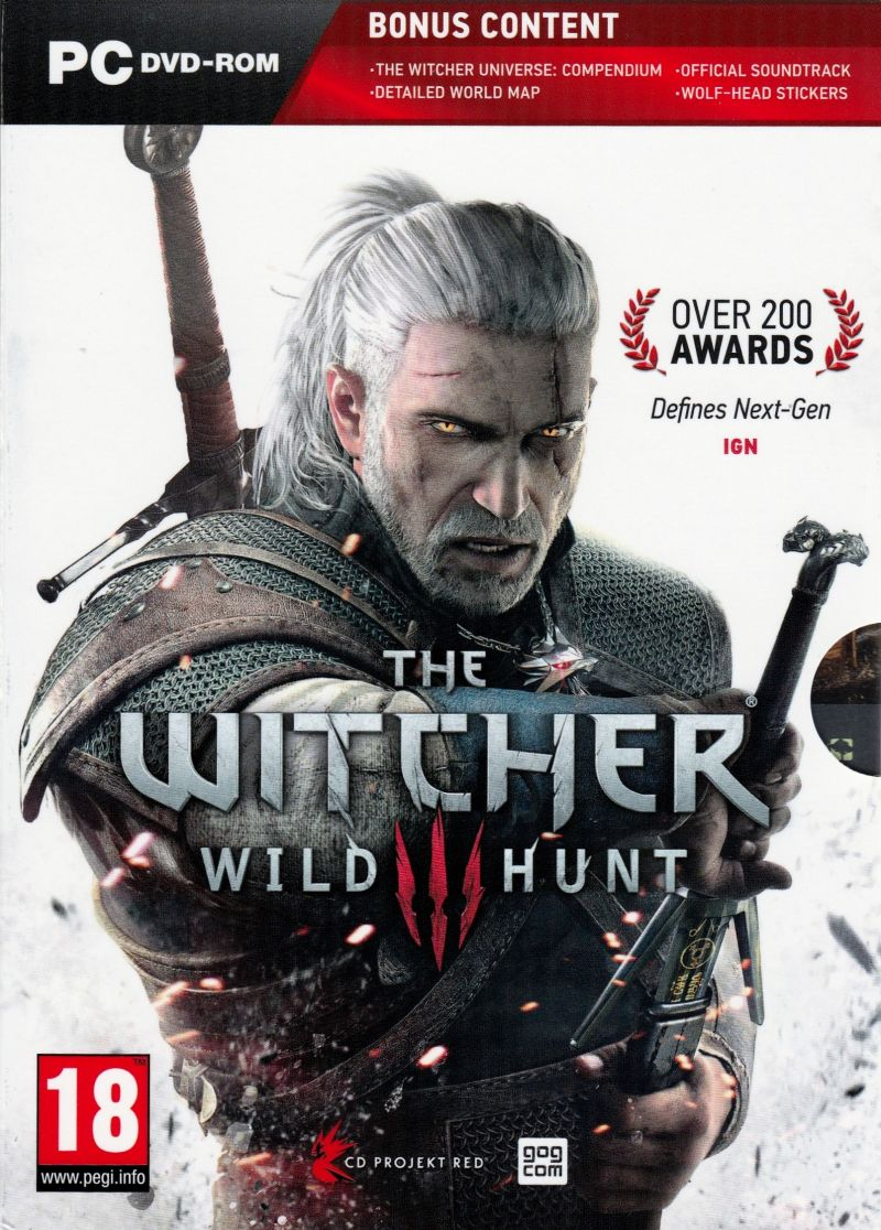 Image result for The Witcher 3 windows game cover