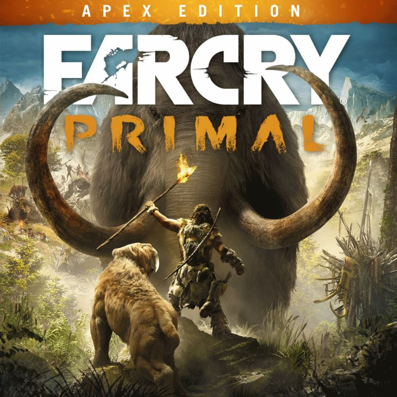 Far Cry Primal Apex Edition 2016 Playstation 4 Box Cover Art Mobygames