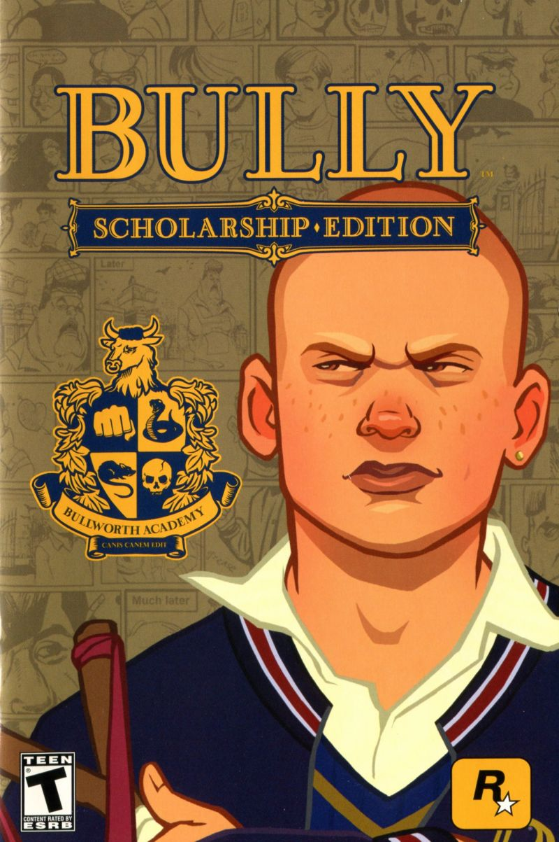 Bully: Scholarship Edition (2016) Android box cover art ...