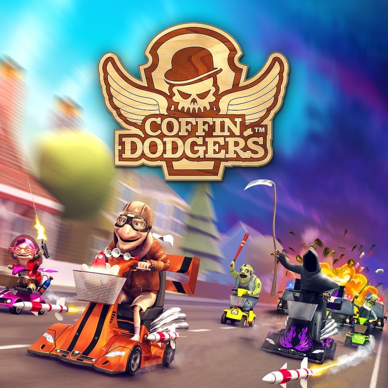 Coffin Dodgers PlayStation 4 Front Cover