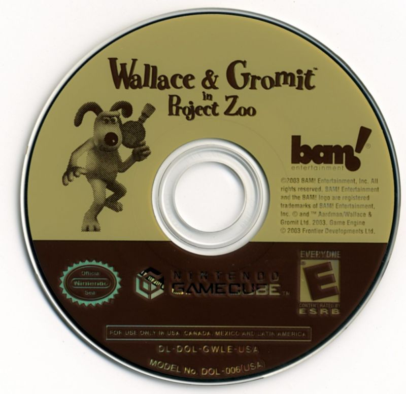 Wallace Gromit In Project Zoo 2003