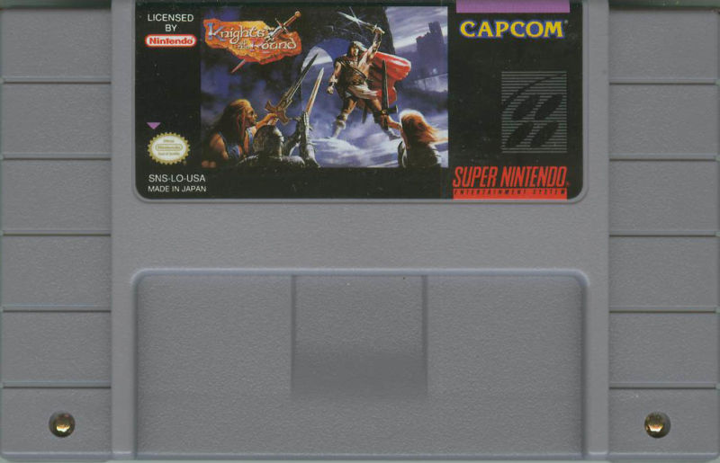 Knights of the Round SNES Media