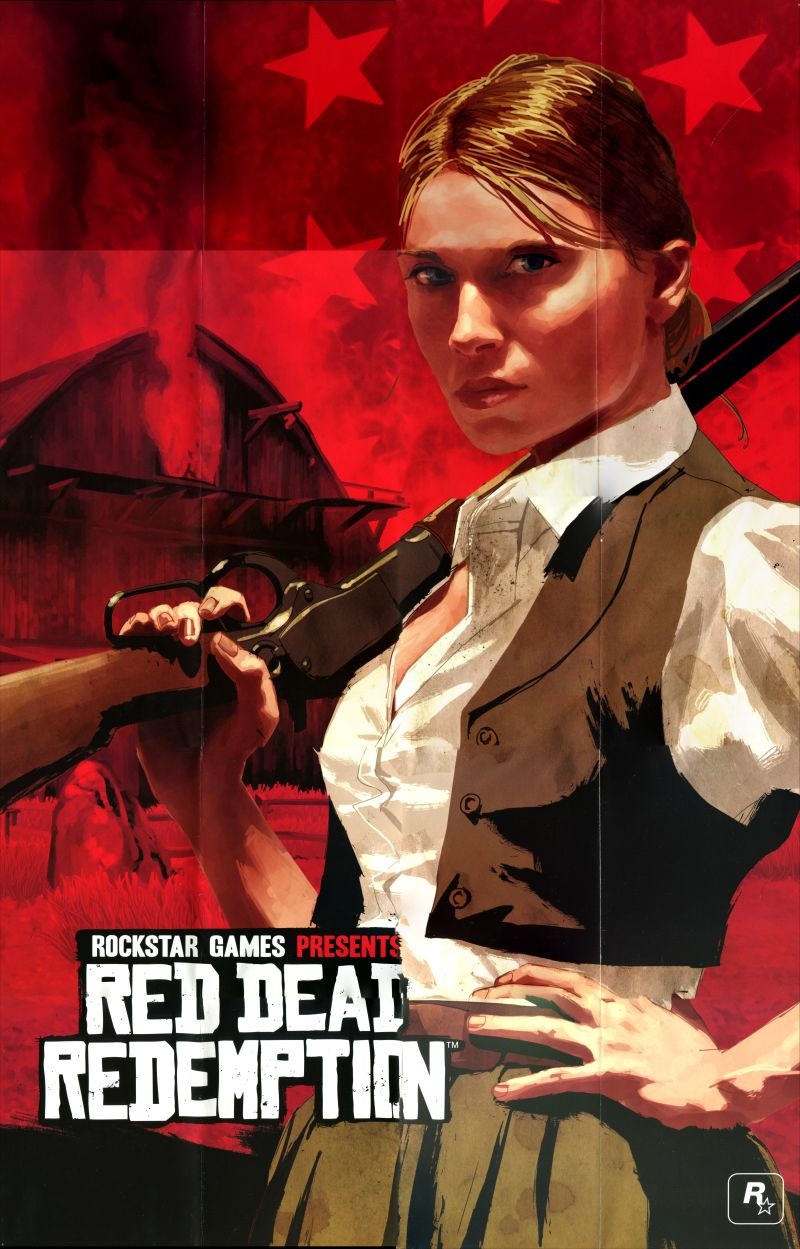 Red Dead Redemption PlayStation 3 Extras Poster