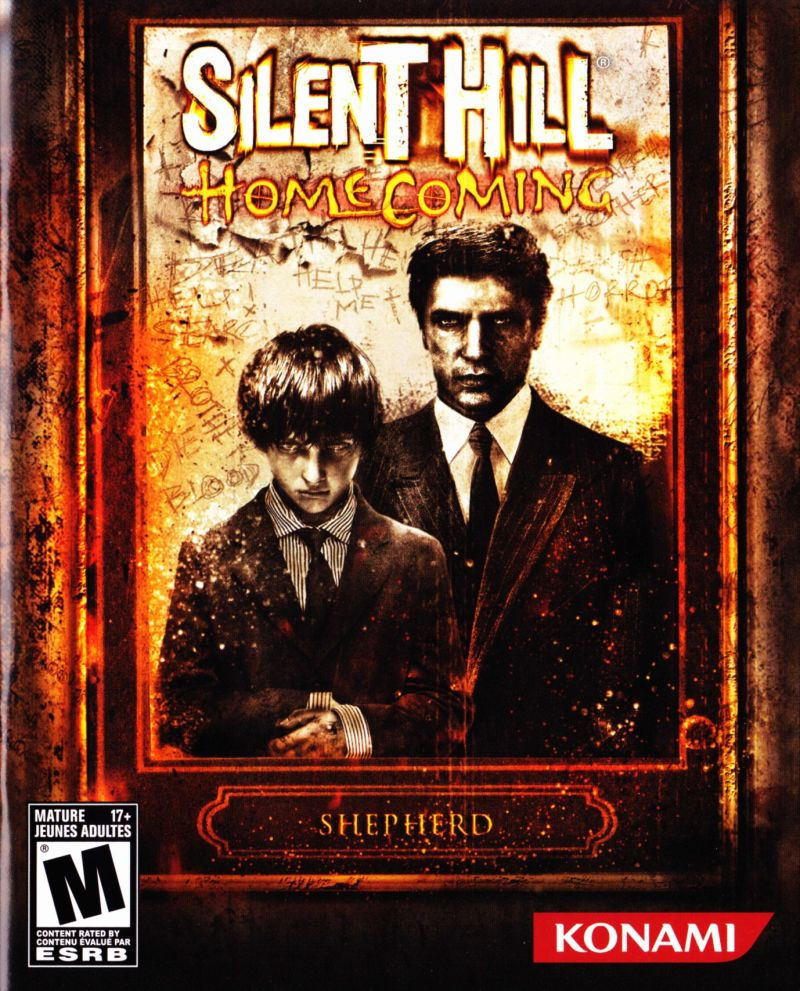 Silent Hill: Homecoming PlayStation 3 Manual Front