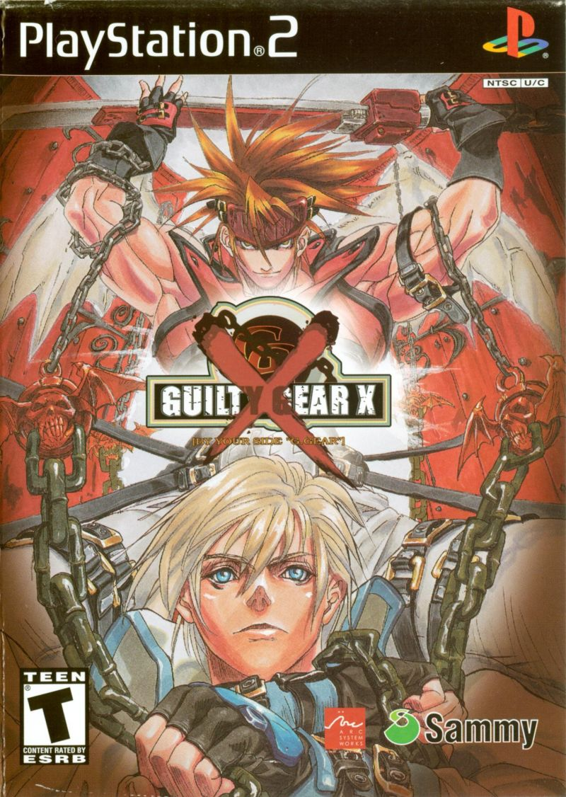 Guilty Gear X PlayStation 2 Front Cover