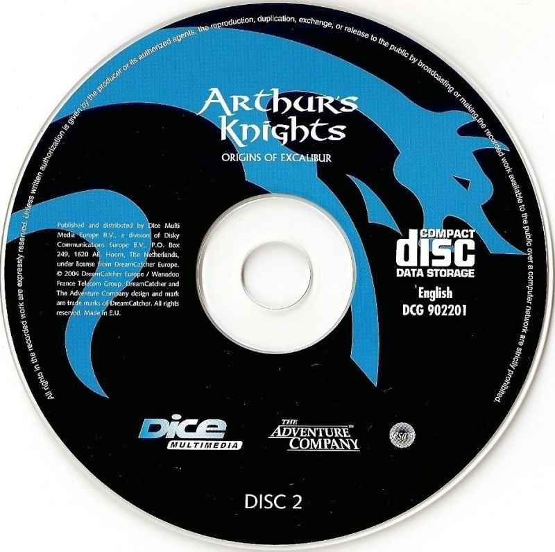 Arthur's Knights: Tales of Chivalry Windows Media Disc 2