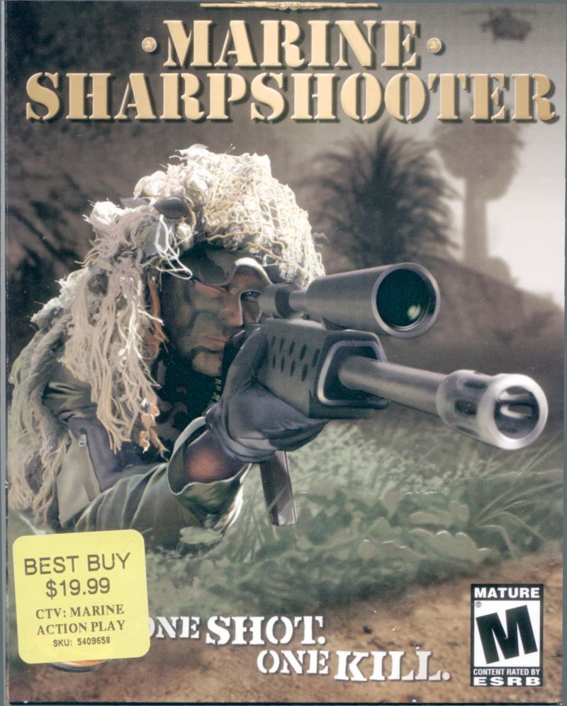 CTU: Marine Sharpshooter Windows Front Cover