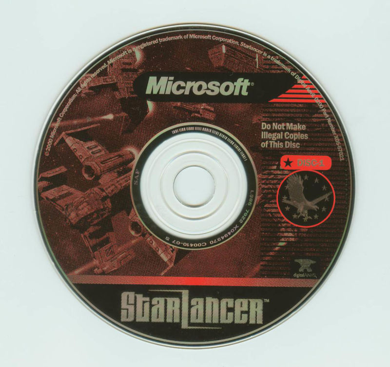 Starlancer Windows Media Disc 1
