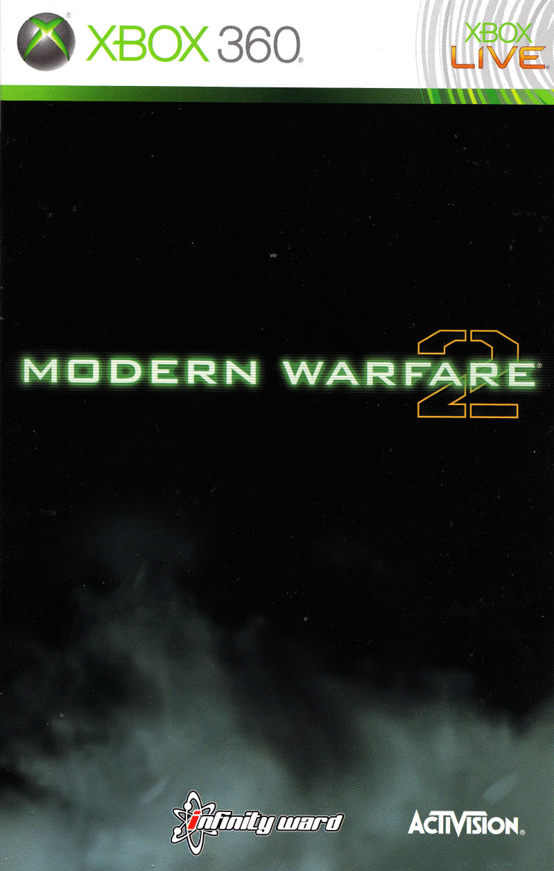 Call of Duty: Modern Warfare 2 (Prestige Edition) Xbox 360 Manual Front
