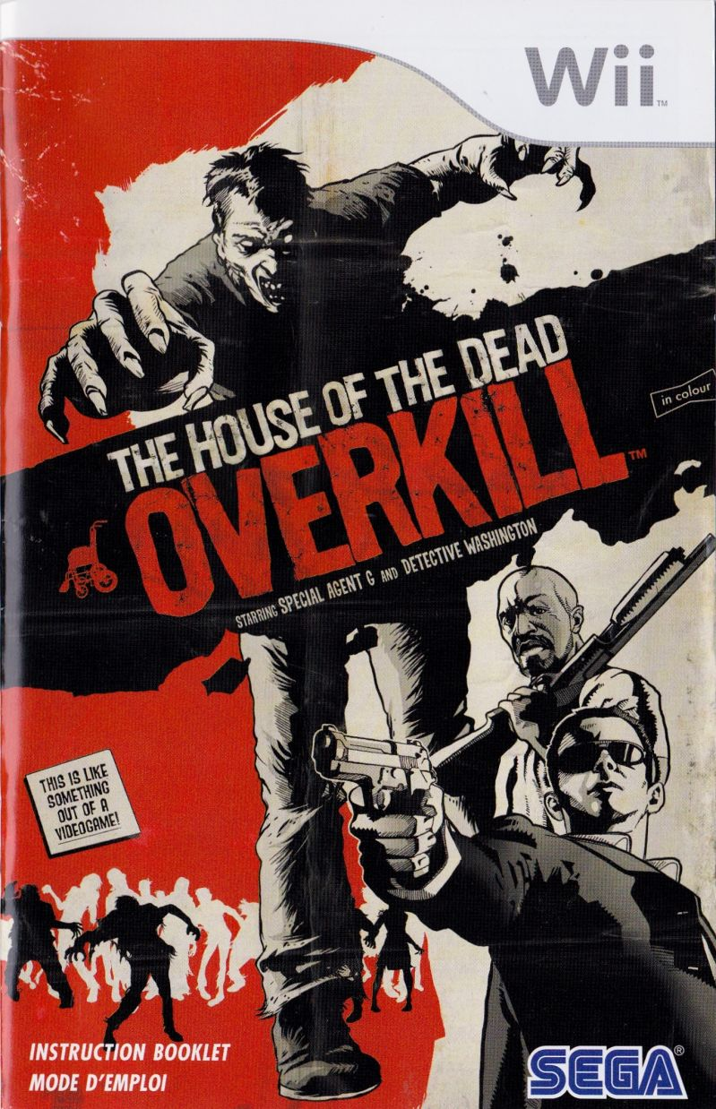 The House Of The Dead Overkill 2009 Wii Box Cover Art Mobygames