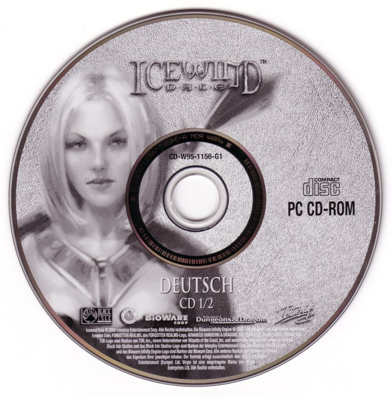 Icewind Dale Windows Media Disc 1