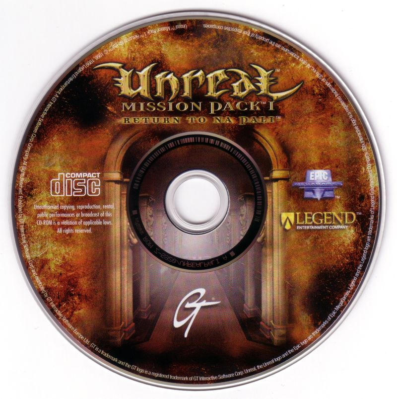 Unreal Mission Pack 1: Return to Na Pali Windows Media