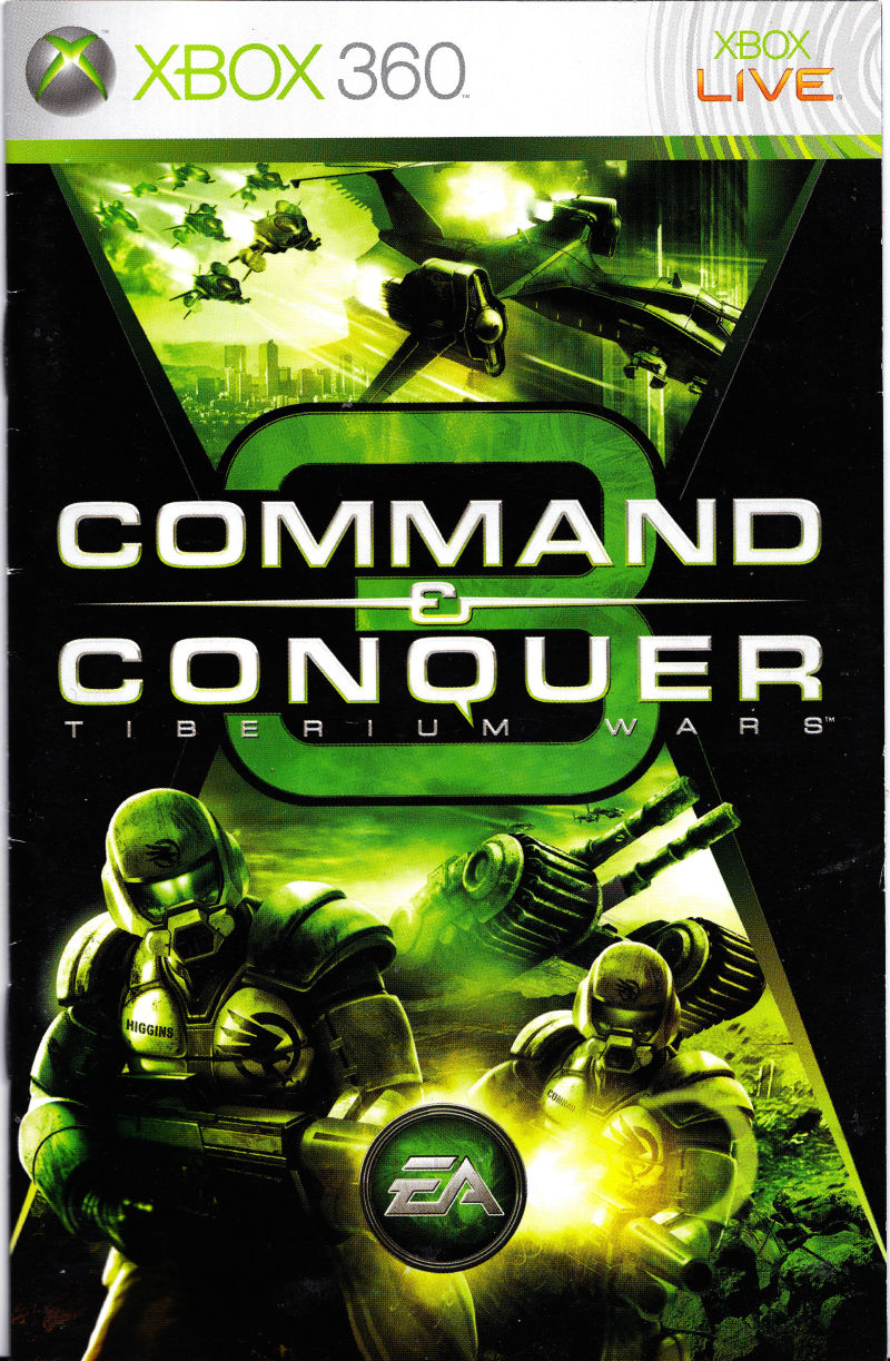 command conquer 3 tiberium wars 2007 macintosh box cover art rh mobygames com command and conquer 3 manual pdf command and conquer red alert 3 manual
