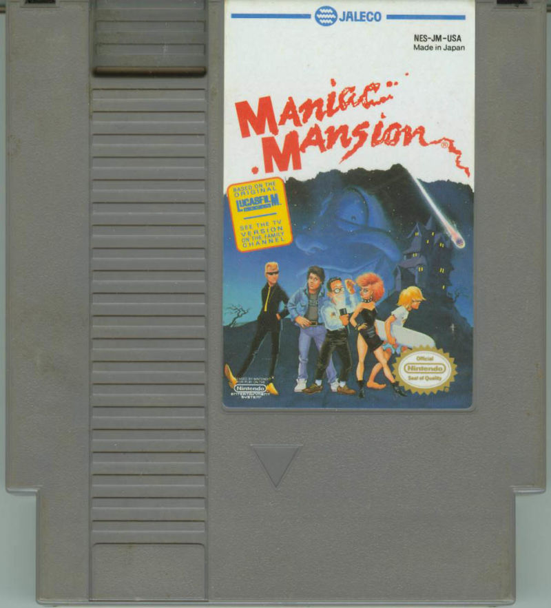 Maniac Mansion NES Media