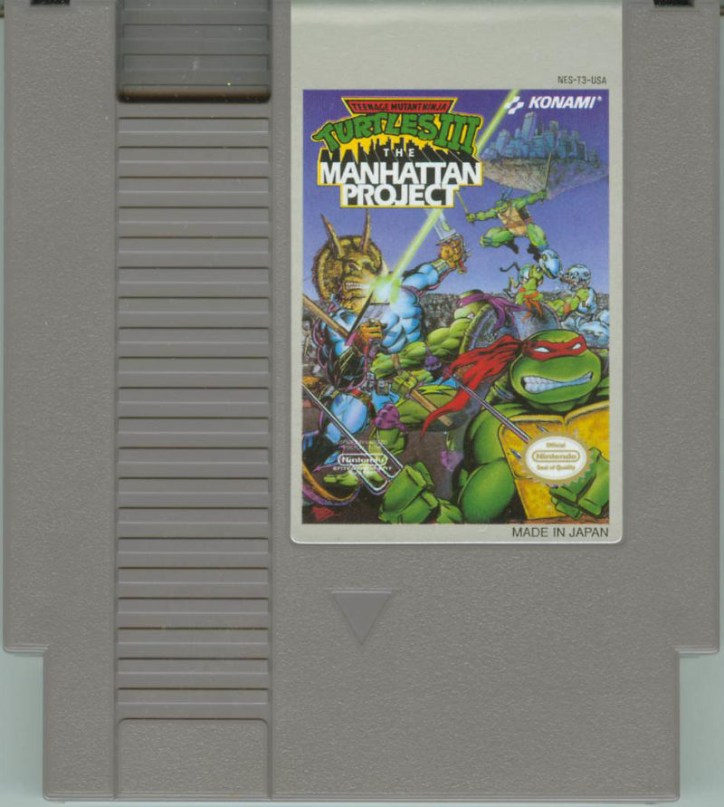 Teenage Mutant Ninja Turtles III: The Manhattan Project NES Media