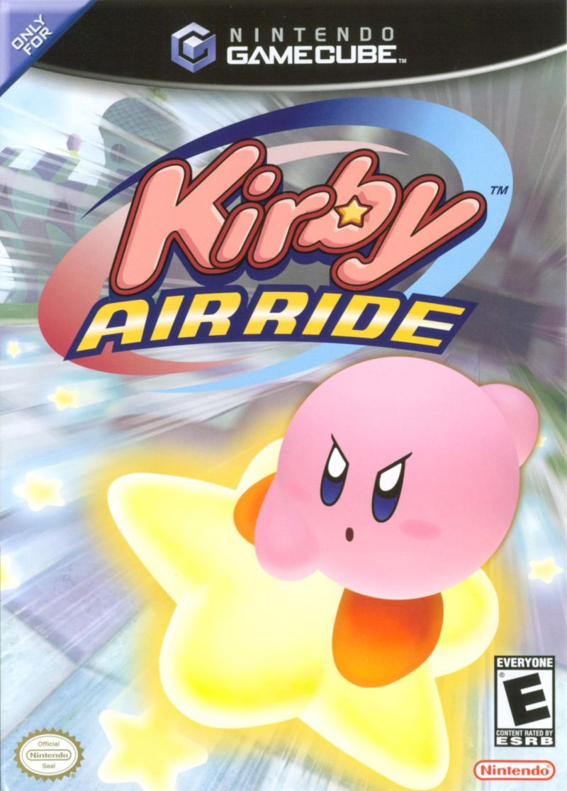 Kirby Air Ride GameCube Front Cover