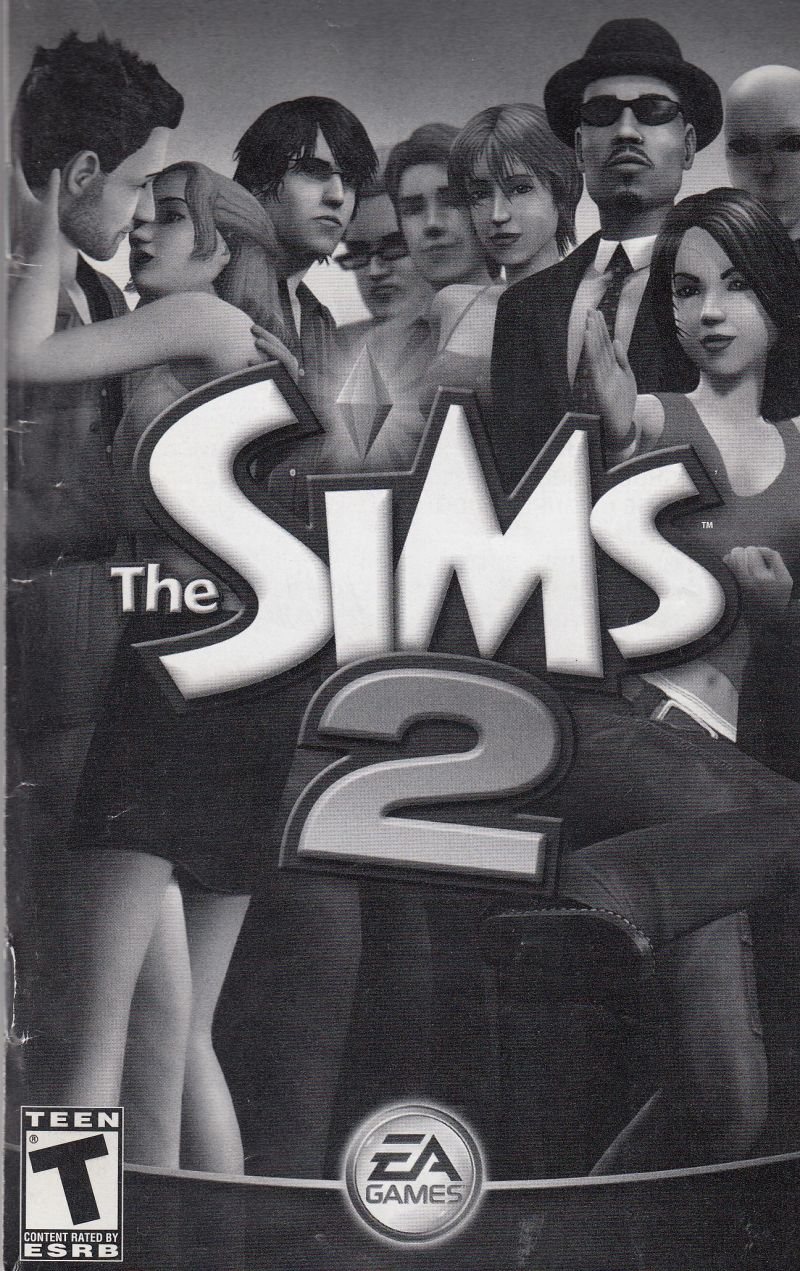The Sims 2 Windows Manual Front