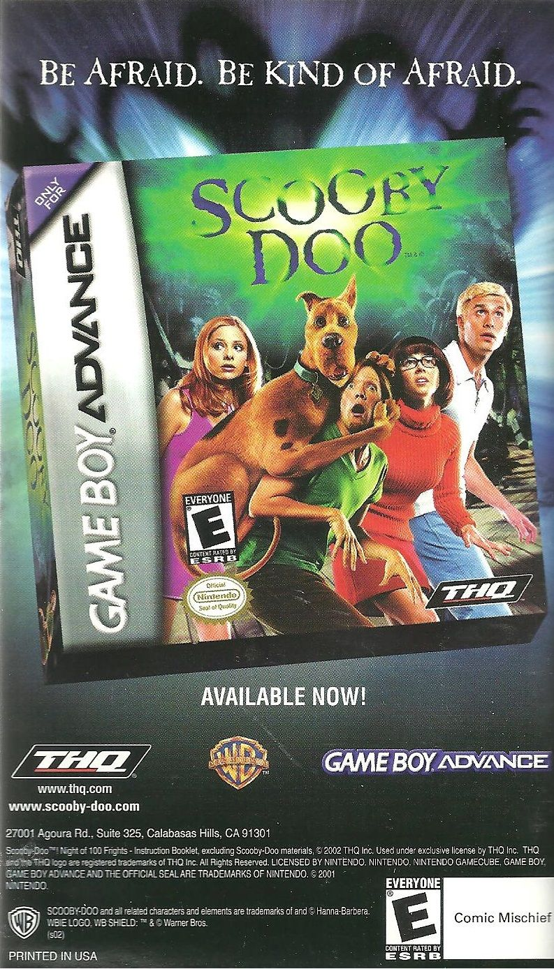 scooby doo night of 100 frights 2002 gamecube box cover art rh mobygames com gamecube manuals pack gamecube manual pdf