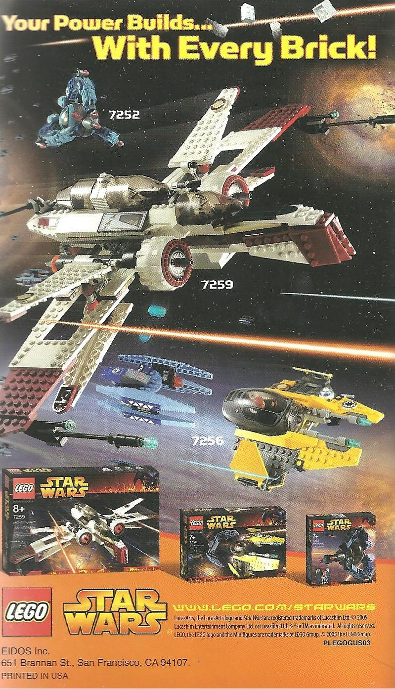 lego star wars the video game 2005 gamecube box cover art mobygames rh mobygames com Replacement Video Game Manuals Life Manual of the Game