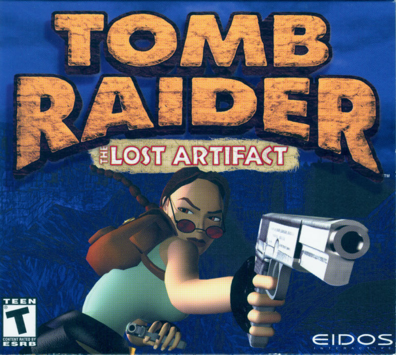 Tomb Raider: The Lost Artifact Windows Front Cover