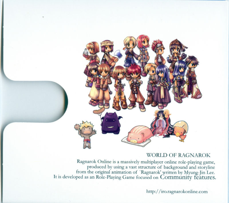 Ragnarök Online Windows Inside Cover Right