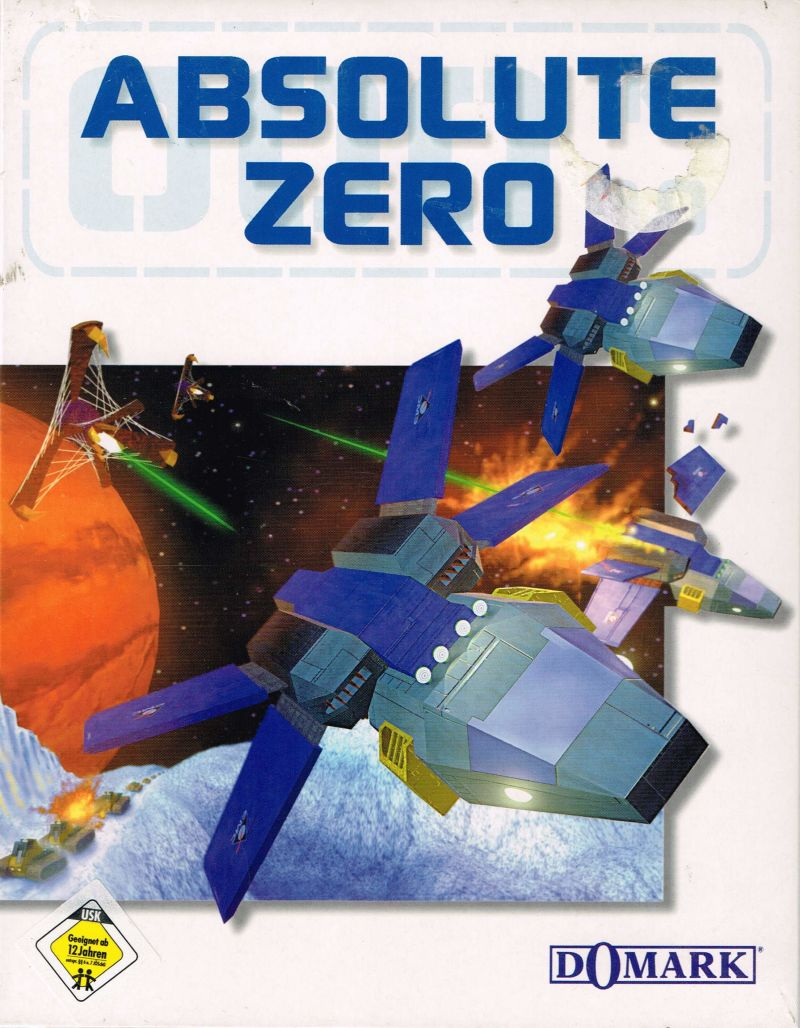 Absolute Zero DOS Front Cover
