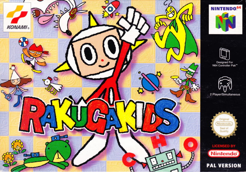 Last Retro Game You Finished And Your Thoughts - Page 8 341034-rakugakids-nintendo-64-front-cover