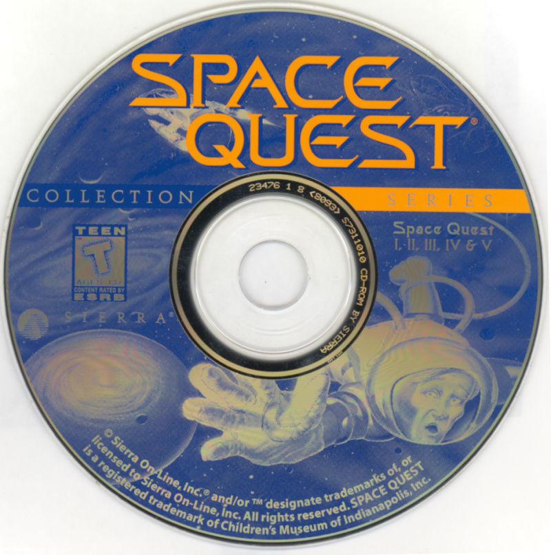 Space Quest: Collection Series DOS Media Disc 1