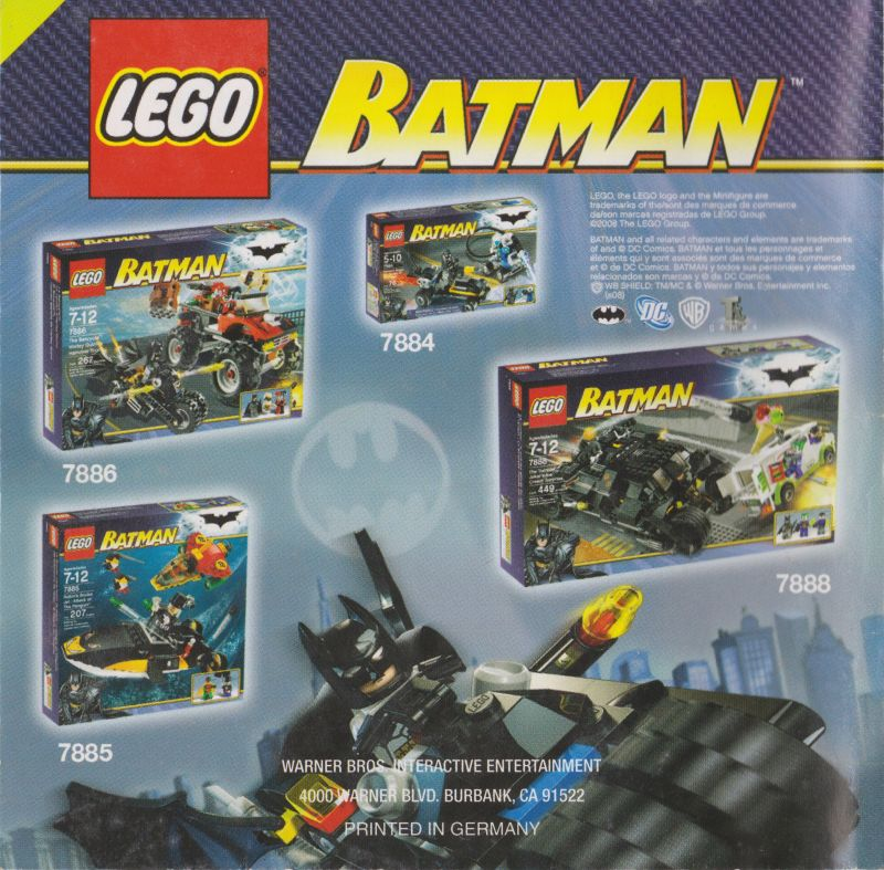 lego batman the videogame 2008 nintendo ds box cover art mobygames rh mobygames com Game Manual PDF Game Instruction Manuals