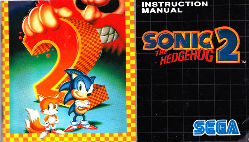 Sonic The Hedgehog 2 1992 Genesis Box Cover Art Mobygames