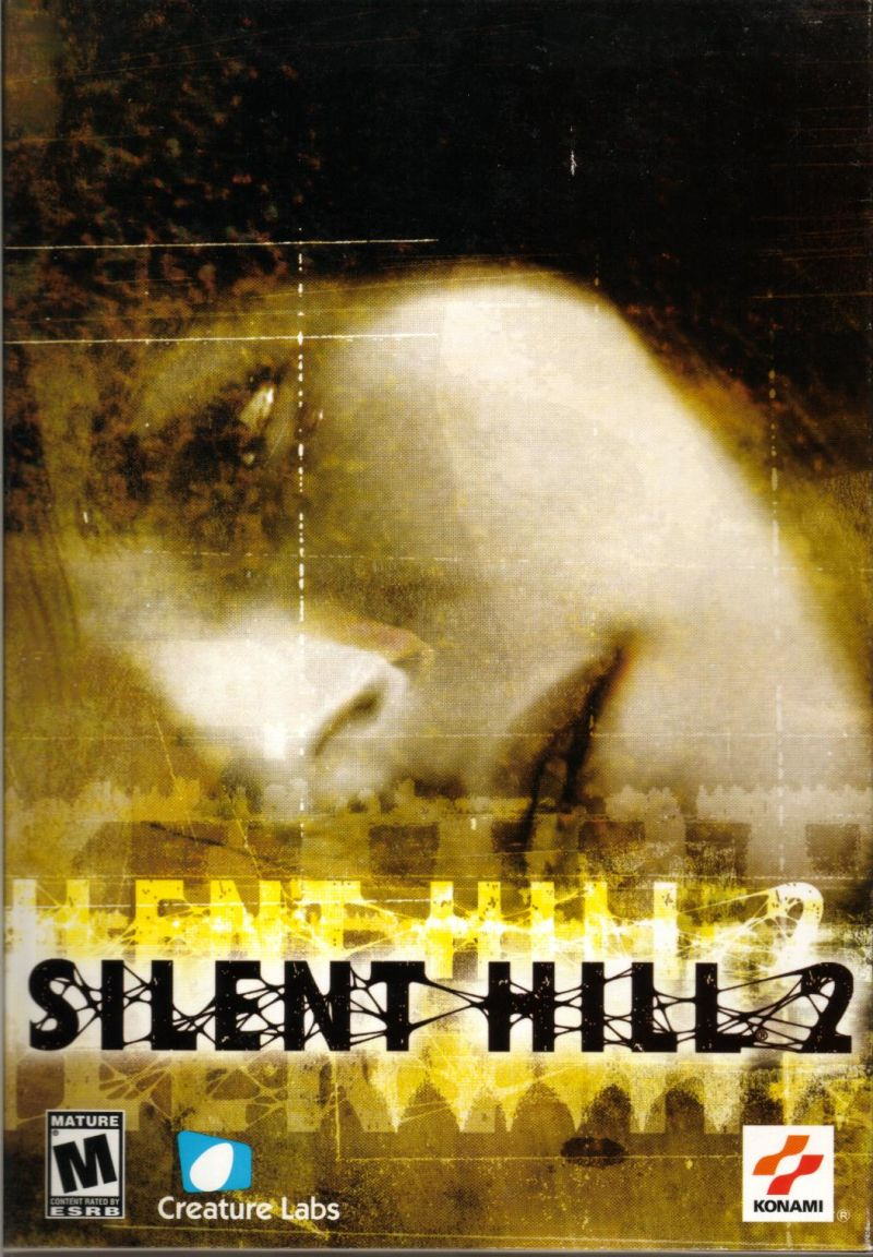 Silent Hill 2 Restless Dreams 2002 Windows Box Cover Art