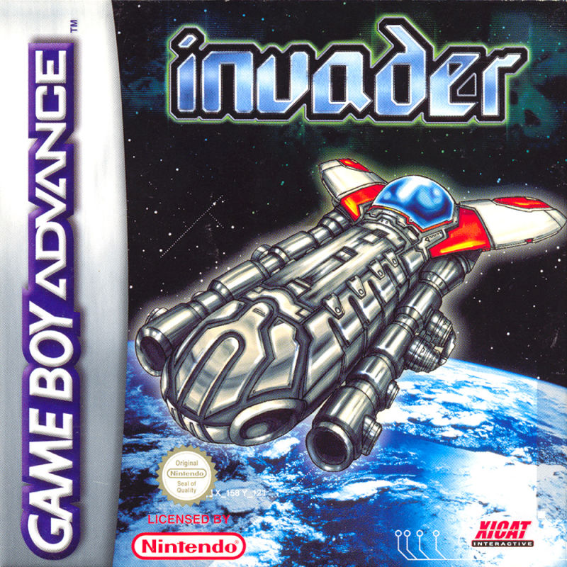 Invader For Game Boy Advance 2002 Mobygames
