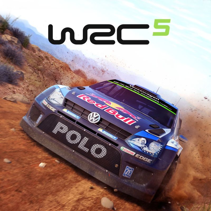 WRC 5: FIA World Rally Championship PlayStation 3 Front Cover