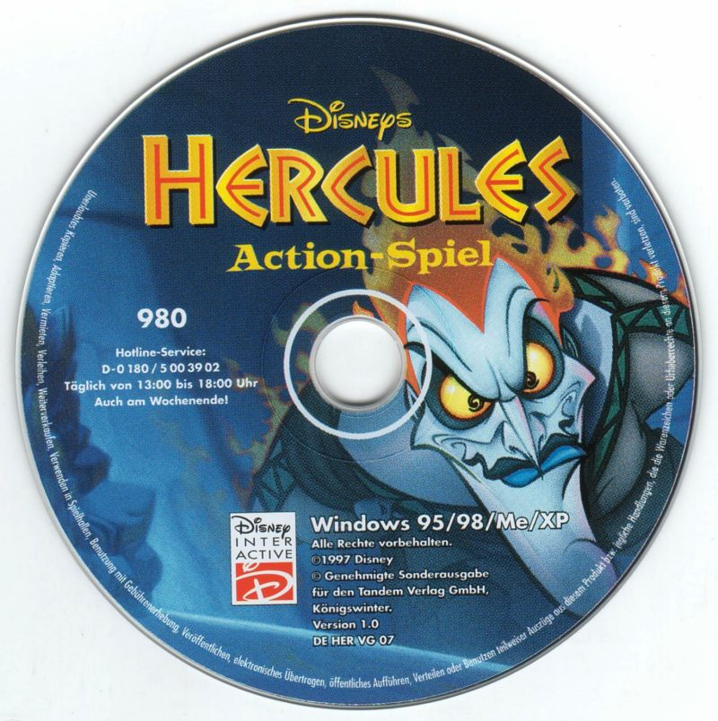 Disney's Hercules  Windows Media