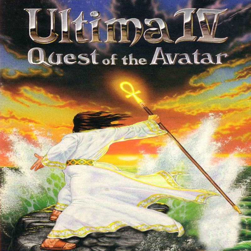Ultima IV: Quest of the Avatar iPad Front Cover